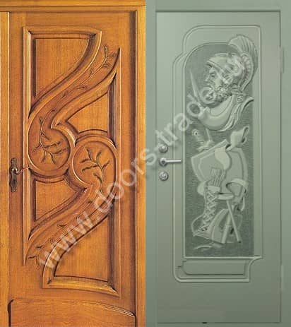 входные двери коттедж в щелково