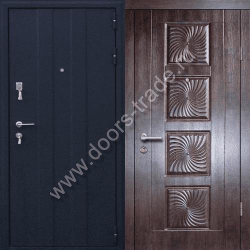 образцы входной двери в котедж
