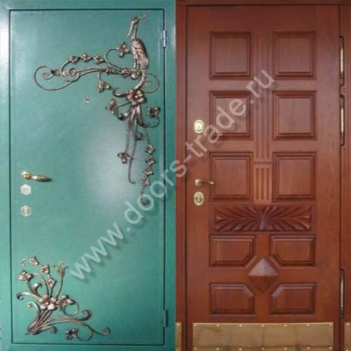 средняя стоимость стальных дверей