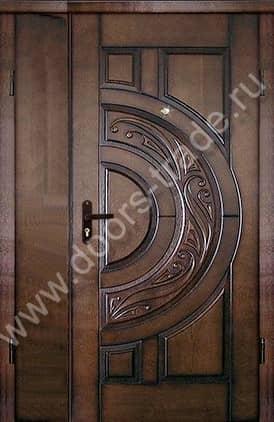 входные двери массив и порошок в железнодорожном