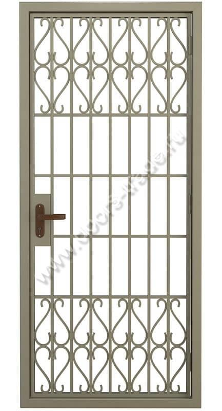 установить металлическую дверь решетка