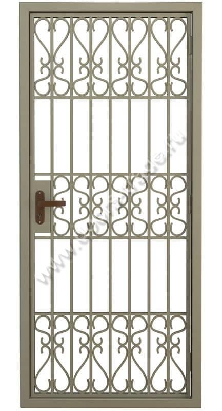 стальные решетчатые двери 230 на 100